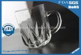 taza del vidrio de agua 220ml con la maneta