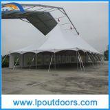 tente extérieure de Pôle de cheville de chapiteau de crête élevée de bâti en acier de 12X36m pour le mariage