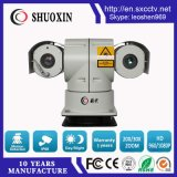 20X Zoom 2.0MP CMOS 400m Night Vision HD IP Laser e câmera IR PTZ CCTV