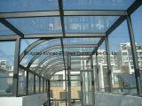 Kundenspezifisches h-Stahlkonstruktion-Haus mit Glaswolle-Faser, Zwischenlage-Panel