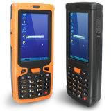 Explorador de mano infrarrojo del código de barras de RFID con el Ce de Windows como OS
