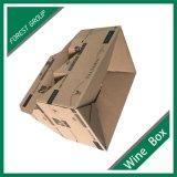 يغضّن [بير بوتّل] صندوق مع علامة تجاريّة طباعة
