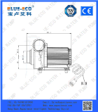 シングルステージポンプ構造および水Usagの水ポンプ