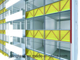 Spandrel pintado color Tempered de cristal