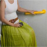 De roestvrije Staaf van de Greep van de Badkamers van het Handvat van het Toilet Steel+Nylon Vastgestelde Bejaarde