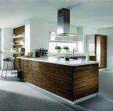 De hete Keukenkasten van de Melamine en van de Lak van de Verkoop Oranje