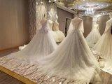 Neue Mehrfarbenverbindungs-graue Hochzeits-Kleider der Ankunfts-2017