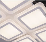 Lámpara de cristal LED moderna decorativa para iluminación de techo
