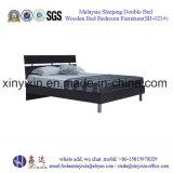 Enig Houten Bed in het Meubilair van de Slaapkamer van het Hotel van Doubai (B-024#)