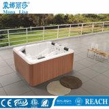 2.2メートルの銀製の白い四角の形の穏かな鉱泉の浴槽