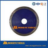 Snelle Cutting Diamond Segmenteerde de hulpmiddelen heet-Gedrukte Gesinterde Daling TurboCutting Het Blad van de zaag