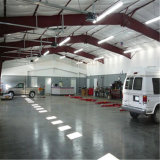 Hangar préfabriqué léger de construction de structure métallique avec la grande envergure