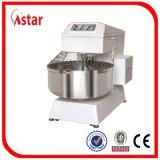Смеситель теста смесителя ременной передачи 200L 75kg электрический спиральн для хлебопекарни оборудует фабрику оптовой продажи машины хлеба еды в Китае
