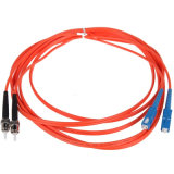FC / PC-FC / PC mm Duplex 62.5 / 125um 2m 3.0mm fibra óptica Patch Cord