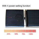 Calefatores acessíveis elétricos de controle remoto do ponto luminoso do infravermelho distante