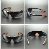 Mode Sunglass (SG115) de la lentille reflétée par argent Anti-UV400