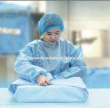 tessuto non tessuto medico a gettare del tessuto SMMS di 100cm*100cm per imballaggio medico