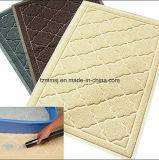 Exportation du couvre-tapis de tapis de Toliet de crabot de couvre-tapis de piégeage de litière du chat de produit d'animal familier de PVC Loofa