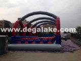 Corsa ad ostacoli gonfiabile commerciale per il parco di divertimenti