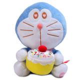 아기 만화 연약한 장난감 귀여운 고양이 견면 벨벳 장난감