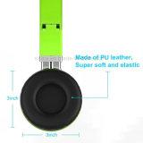 Faltbarer Kopfhörer mit Mikrofon und Lautstärkeregler, verdrahteter Kopfhörer für iPhone