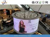 Panneau en aluminium de coulage sous pression de location d'intérieur d'Afficheur LED de P5 HD