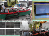 機械、金属の網の打つ機械を作る穴があいた金属の網