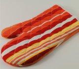 Перчатки перчаток безопасности полиэфира & микроволновой печи холстины хлопка используемые BBQ