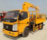 Carro del camión de Dongfeng 3tons montado con la grúa de XCMG para la venta