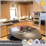 Gabinetes de cozinha redondos personalizados do tamanho