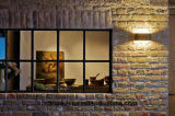 Finestra fissa di alluminio parete di alluminio del portello e di Windows