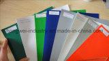 Tela incatramata di alta qualità del PVC di due colori per il tessuto della tenda