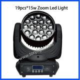 Indicatore luminoso mobile della lavata dello zoom della testa 19PCS*12W del LED