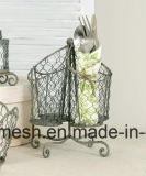 Treillis métallique de cage de poulet de cru de Sailin pour le panier