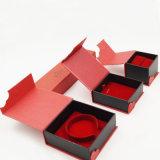 S'assemblant le cadre de empaquetage de bijou de charpie de Flannelette (J63-E1)