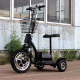 Rad-Mobilitäts-Roller des Erwachsen-350W 36V12ah elektrischer des Fahrrad-drei