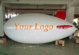 Publicidad inflable Globo de helio Publicidad del dirigible no rígido
