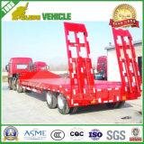 2 Gooseneck van de Vrachtwagen van de as 30 Ton Aanhangwagen van Lowbed van de Semi