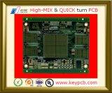 Placa Multilayer do PWB do protótipo da placa de circuito impresso da eletrônica 2oz do OEM 2-28 para componentes eletrônicos