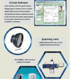 Macchina portatile 10With20W della marcatura del laser del tubo del metallo del CO2 rf per plastica di legno
