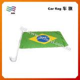 Polyester-nationale kundenspezifische Auto-Markierungsfahne (HYCF-AF041)