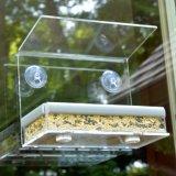 Alimentatore selvaggio dell'uccello del supporto dell'uccello della finestra acrilica dell'alimentatore