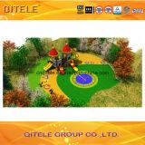 114mm гальванизированное детей серии замока простоты столба оборудование спортивной площадки цветастых напольное