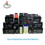 6V 7ah Speicher-Leitungskabel-Säure-Batterie mit AGM