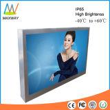 65 contrassegno esterno fissato al muro dell'affissione a cristalli liquidi Digitahi di pollice per la pubblicità (MW-651OB)
