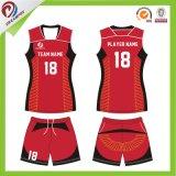 Le uniformi all'ingrosso di sport di pallavolo delle signore per progetta