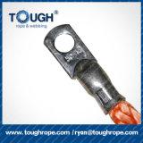 веревочка ворота 9.5mm 30m Dyneema синтетическая с крюком, кольцом, защитной втулкой