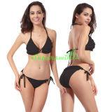 Ladies Sexy Jacquard Halter String Bikini