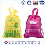 Da compra relativa à promoção feita sob encomenda da cópia do logotipo da tela de Varisou saco de Drawstring não tecido