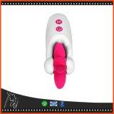 口頭圧延の性の舌のクリトリスの刺激のバイブレーターを振動させる7つの速度の回転